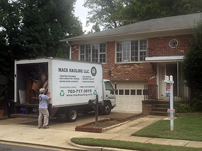 Certified Estate Clean Out Pros VA DC MD | Mack Hauling