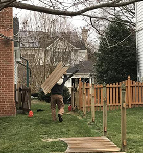 Fence Demolition Removal Burke