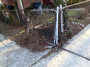 Fence Removal in Oakton
