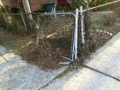 Broken Chain Link Fence Removal Springfield