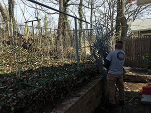 fence removal northern VA
