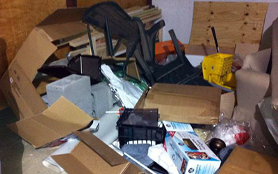 hoarder clean out Northern VA
