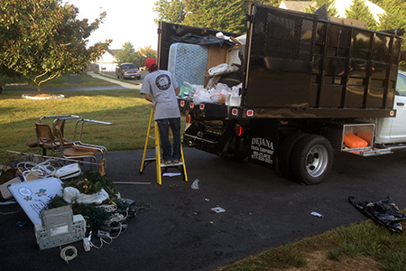 Washington DC Metro Area Junk Removal