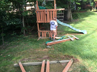 Play Yard Equipment Removal Herndon